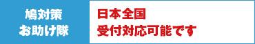 鳩対策お助け隊 日本全国対応しております